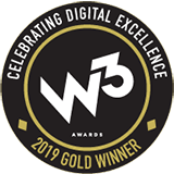 W3 Awards 2019 Gold Winner